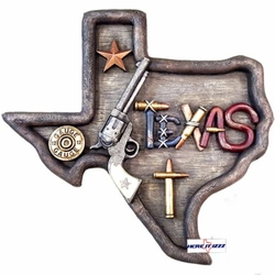 Texas Handgun Pistol Wall Artwork