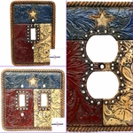 Texas Flag Switch Plate And Outlet Collection