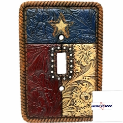 Texas Flag Single Switch