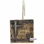 Trust in the Lord Shower Hooks