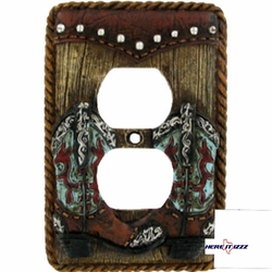 Turquoise  Boot Outlet Cover