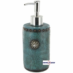 Turquoise Concho Lotion Pump