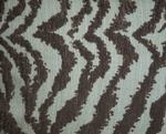 Turquoise Zebra  Bedding Set King