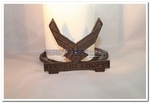 United States Air Force Cast Iron Paper Towel Holder