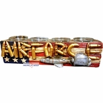 United States Air Force Four Votive Candle Holder