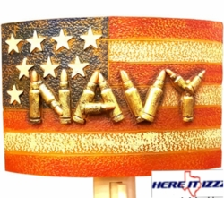United States Navy Plug In Night Light