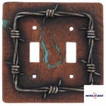 Barb Wire Double Wall Plate