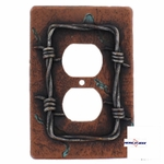 Barb Wire  Outlet Plate