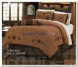 Triple Star Barbwire Comforter Twin