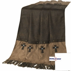 Navaho Cross  Throw Blanket