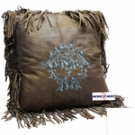 Monterrey Embroidered Throw Pillow