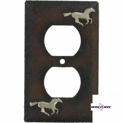 Wild Horse Mustang Wall Plug Cover