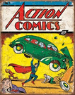 Action Comics No1 Cover Tin Signs