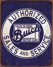 Buick - Valve in Head Tin Signs