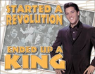 Elvis - Ended Up a King Tin Signs