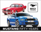 Ford Mustang 50th Tin Signs