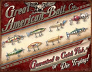 Great American Bait Co. Tin Signs