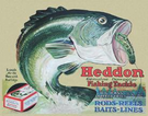 Heddon - Frogs Tin Signs