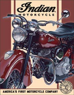 Indian - 1948 Chief Tin Signs