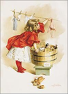 Ivory Soap Girl Washing
