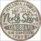 North Shore Surf Tin Signs