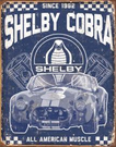 Shelby - American Muscle Tin Signs