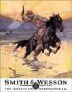 Smith & Wesson - Hostiles Tin Signs