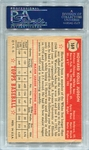 1952 Topps Howie Judson #169 PSA 7