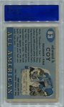 1955 Topps All-American Ted Coy #83 PSA 8