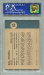 1961 Fleer Bill Russell In Action #62 PSA 8