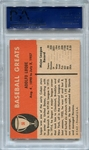 1961 Fleer Dolf Luque #56 PSA 9