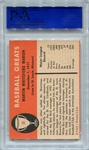 1961 Fleer Marty Marion #58 PSA 9