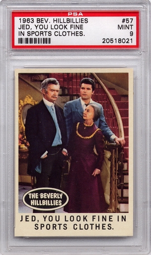1963 Beverly Hillbillies - Jed, You Look Fine In Sports Clothes #57 PSA 9