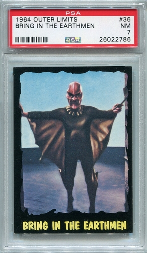 1964 Outer Limits - Bring In The Earthmen #36 PSA 7