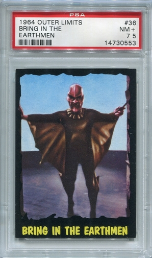 1964 Outer Limits - Bring In The Earthmen #36 PSA 7.5