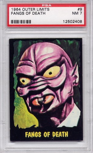 1964 Outer Limits - Fangs Of Death #9 PSA 7