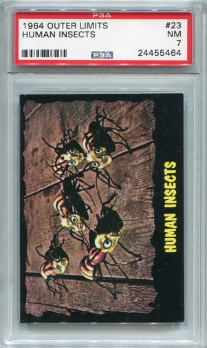1964 Outer Limits - Human Insects #23 PSA 7