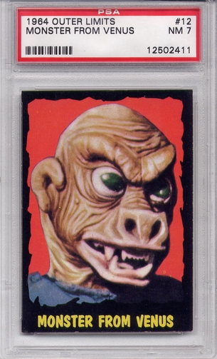 1964 Outer Limits - Monster From Venus #12 PSA 7