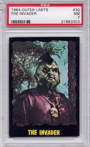 1964 Outer Limits - The Invader #30 PSA 7