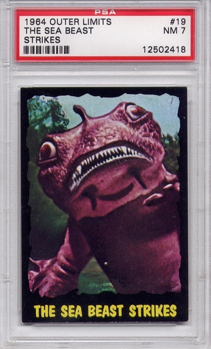 1964 Outer Limits - The Sea Beast Strikes #19 PSA 7