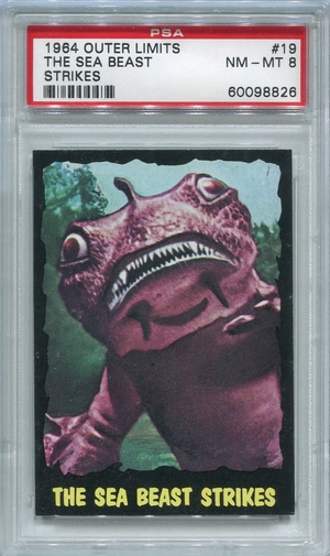 1964 Outer Limits - The Sea Beast Strikes #19 PSA 8