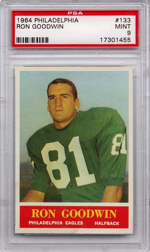 1964 Philadelphia Ron Goodwin #133 PSA 9