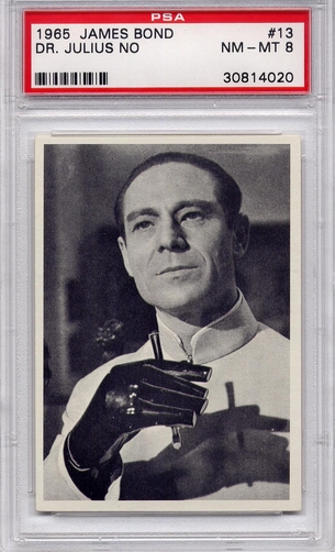 1965 James Bond - Dr. Julius No #13 PSA 8