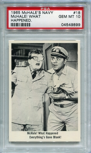 1965 McHale's Navy - McHale! What Happened #18 PSA 10
