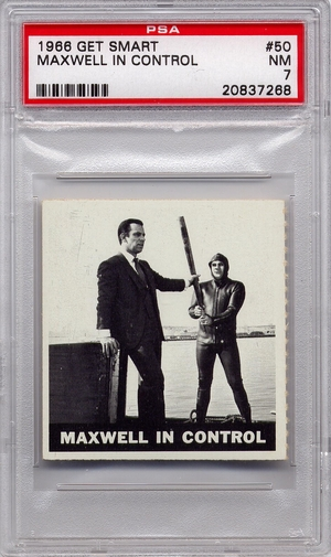 1966 Get Smart - Maxwell In Control #50 PSA 7