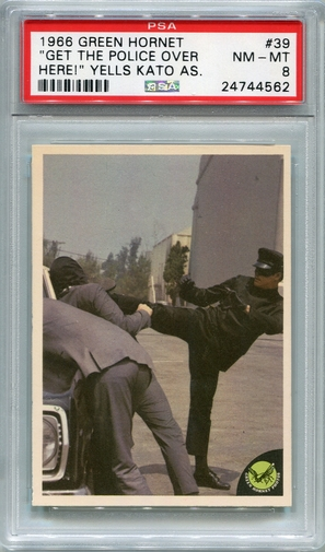 1966 Green Hornet - Get The Police Over Here! #39 PSA 8