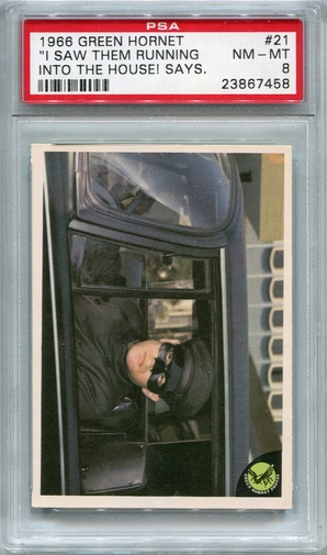 1966 Green Hornet - I Saw Them Running Into The House! #21 PSA 8