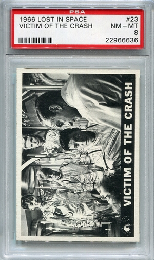 1966 Lost In Space - Victim Of The Crash #23 PSA 8