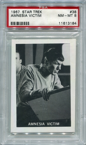1967 Leaf Star Trek - Amnesia Victim #38 PSA 8 (#3184)