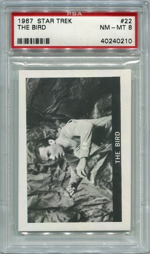 1967 Star Trek - The Bird #22 PSA 8
